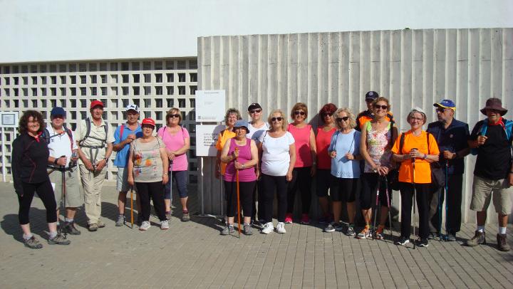 Les caminades saludables es tornen mensuals al CAP Vilanova del Camí