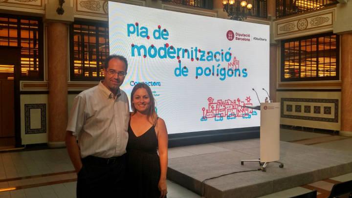 La Diputació invertirà 30 m€ en la modernització dels polígons de la demarcació