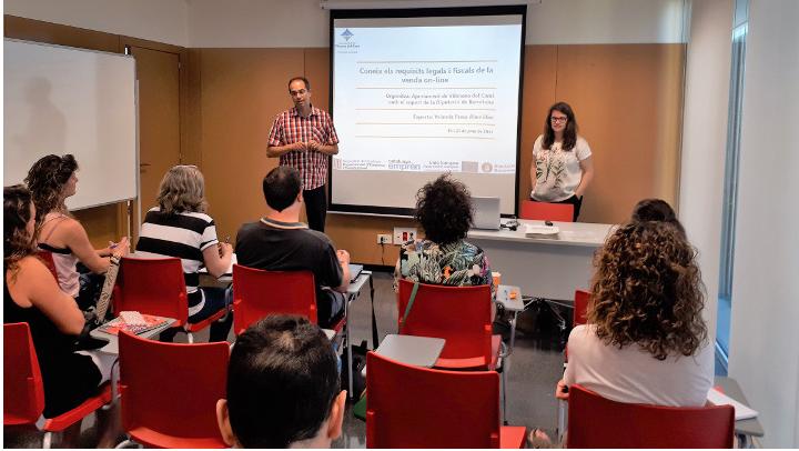 Continuen els tallers de suport a l'emprenedoria des de Promoció Econòmica