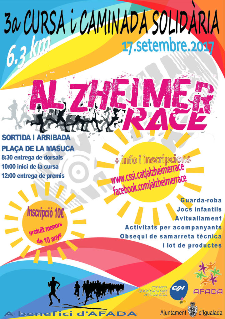 Alzheimer Race 2017 cartell