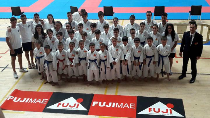 19 campions d'Espanya de Nihon Tai-jitsu i 31 medalles més per al club Budokan