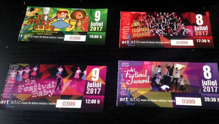 Artístic celebra els festivals de fi de curs aquest cap de setmana