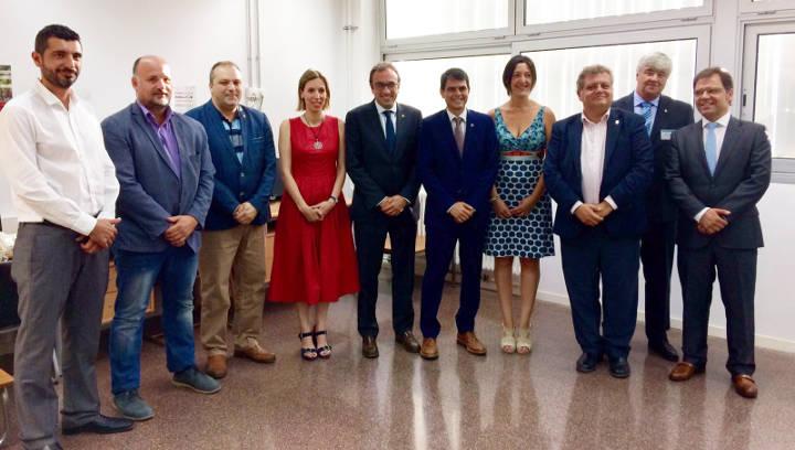 El conseller Rull anuncia la creació de sòl industrial a petició conjunta dels alcaldes de la conca