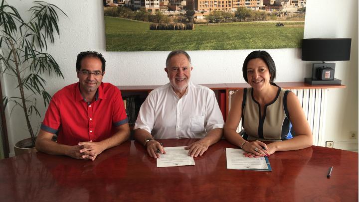 Treball conjunt de l'Ajuntament vilanoví i Polígons dels Plans per fomentar l'activitat econòmica i atraure noves empreses