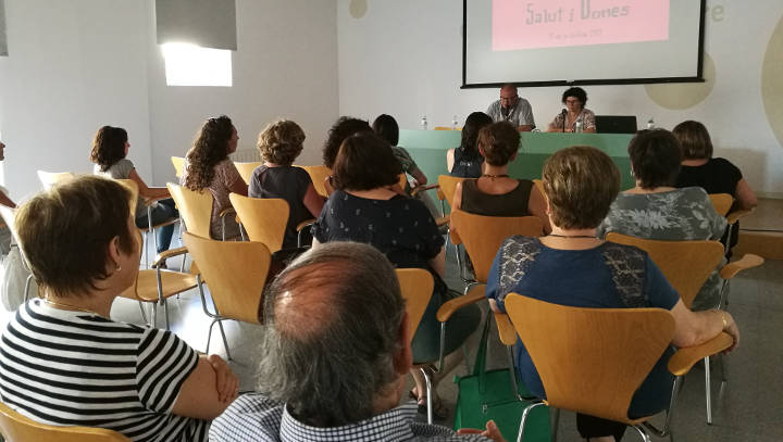 L'agenda 'Salut i dones' de la MICOD culmina amb la presentació del procés participatiu
