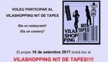 El Vilashopping 2017 ja té data i anima participar-hi comerços i restaurants