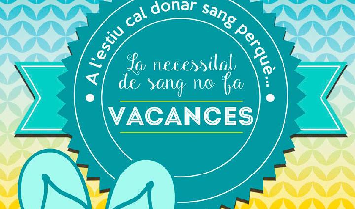Una donació vital al Banc de Sang que podem fer aquest agost, a Can Papasseit