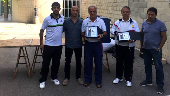 Jornada de germanor amb motiu del 25è aniversari del Club Tennis Vilanova