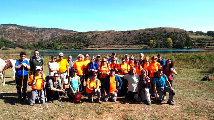 Colla Excursionista - Estany de Montcortés. Foto Jaume Sayós