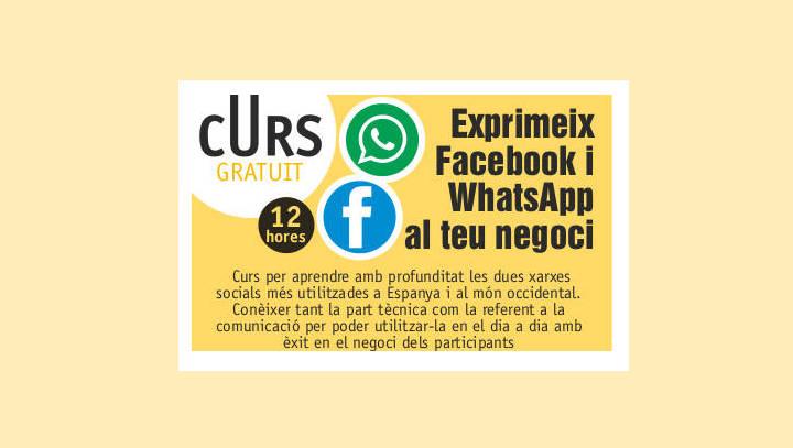 Un curs per exprimir Facebook i WhatsApp al servei del negoci