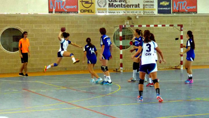 Victòria clara de les juvenils del CH Vilanova en l'últim partit de pretemporada