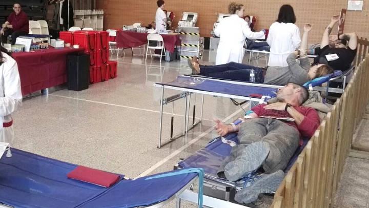 La marató de sang a Igualada precedeix els acaptes de sang d'octubre, amb cita també a Vilanova