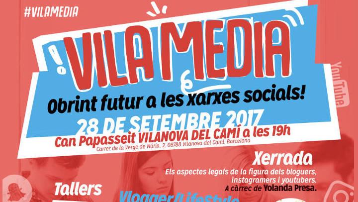 El VilaMedia convida el jovent a un acte sobre xarxes socials i ocupació
