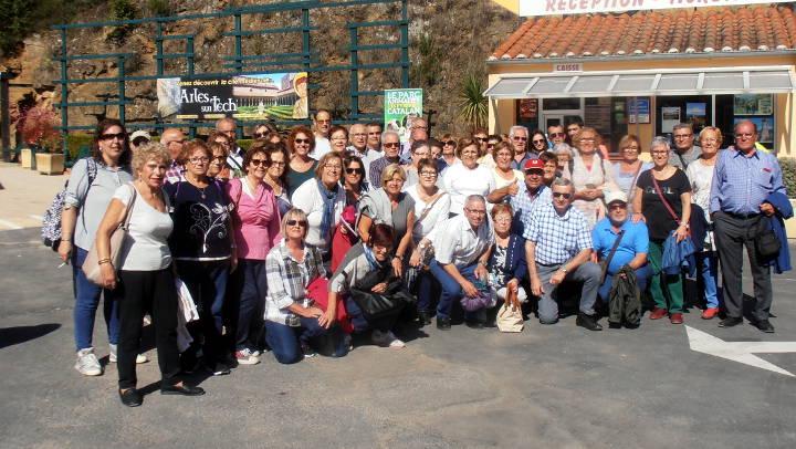 Reeixida excursió cultural de l'AAVV del Barri Bonavista amb 60 persones