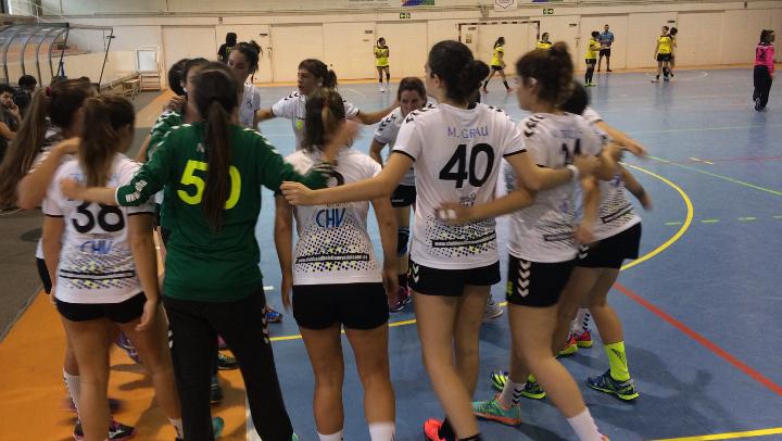 Doble jornada per al CH Vilanova amb victòria a Sant Esteve