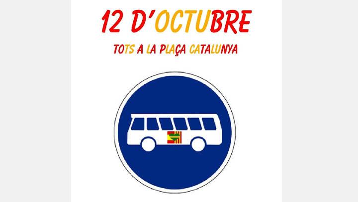 El grup 'Vilanova no Independentista' s'organitza per anar a la manifestació de Barcelona
