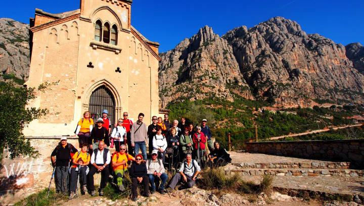 Caminem per Montserrat amb la Colla Excursionista de Vilanova del Camí