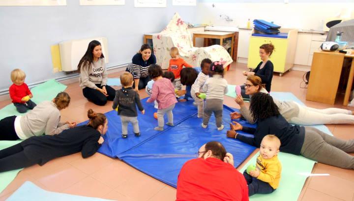 Últimes places pels tallers de massatge i psicomotricitat infantil