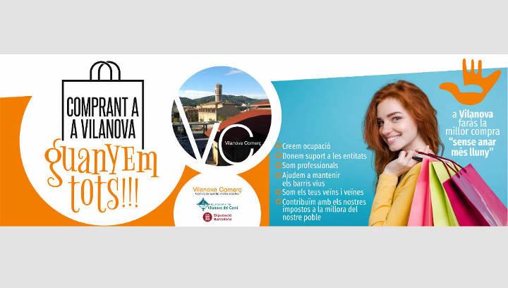 Vilanova Comerç engega una campanya per promoure la compra de proximitat