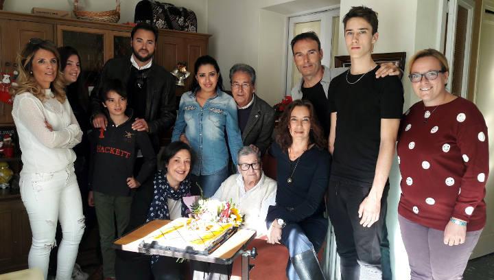 Conxita Casellas, l'àvia més gran del municipi, ja n'ha fet 108 |FOTOS|