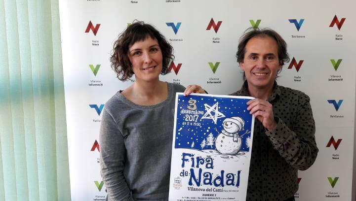 La Fira de Nadal de Vilanova Comerç crida a conèixer l'oferta local, aquest diumenge, a la plaça del Mercat|ÀUDIO|