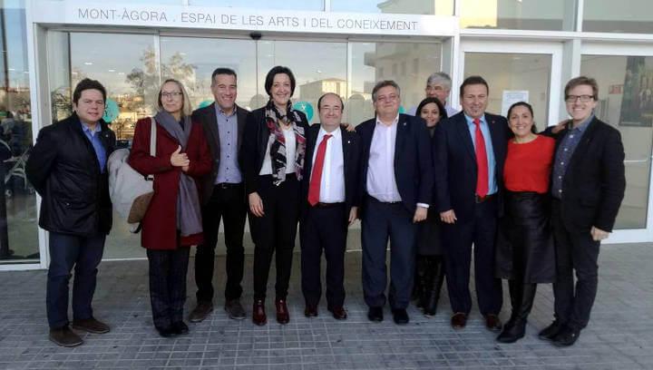 Miquel Iceta diu que cal 'reconciliar els catalans' en la inauguració de la campanya del PSC a l'Anoia