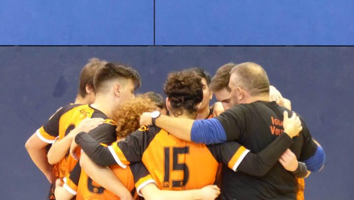 L'Igualada Volei Club aconsegueix una victòria important de l'equip juvenil masculí