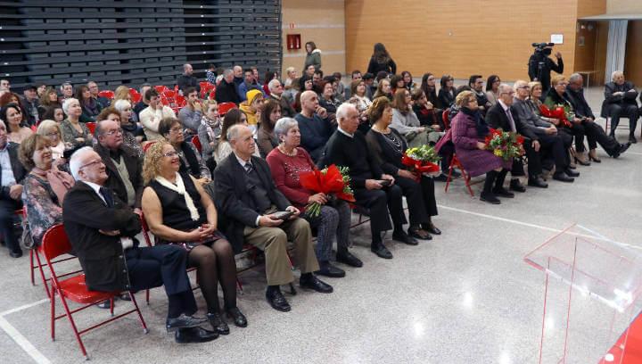 Cinc matrimonis vilanovins seran homenatjats en l'any de les seves Noces d'Or