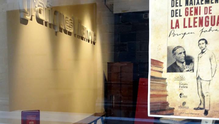 La vida i obra de Pompeu Fabra s'exposa a l'Empremta en l'any del 150è aniversari del gramàtic