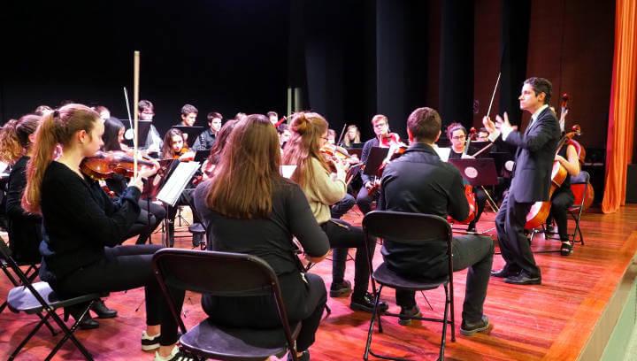 Concert de la Jove Orquestra Simfònica de l'Anoia per Sant Hilari |VÍDEO i FOTOS|