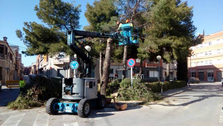 Comença la remodelació de la plaça Berenguer de Montbui per millorar-ne l'accés i evitar el risc d'accidents