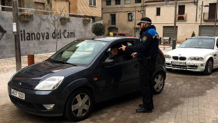 La Policia Local de Vilanova del Camí prepara la festa del seu patró
