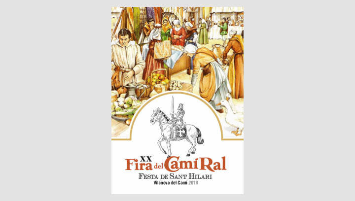 La Fira del Camí Ral reviurà la història del segle XV de Vilanova del Camí