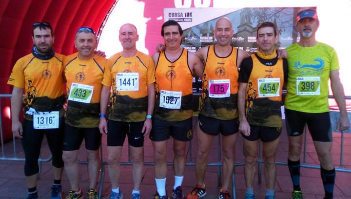Bona participació dels atletes del Vilarunners del Camí a la cursa 10K Vilafranca del Penedès
