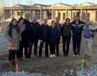 Govern i oposició fan seguiment de les obres de la piscina de Can Titó que segueixen el calendari previst