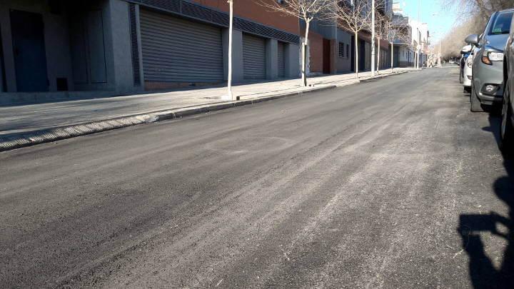 Els treballs de reparació del ferm del carrer Frai Juníper Serra es faran dilluns
