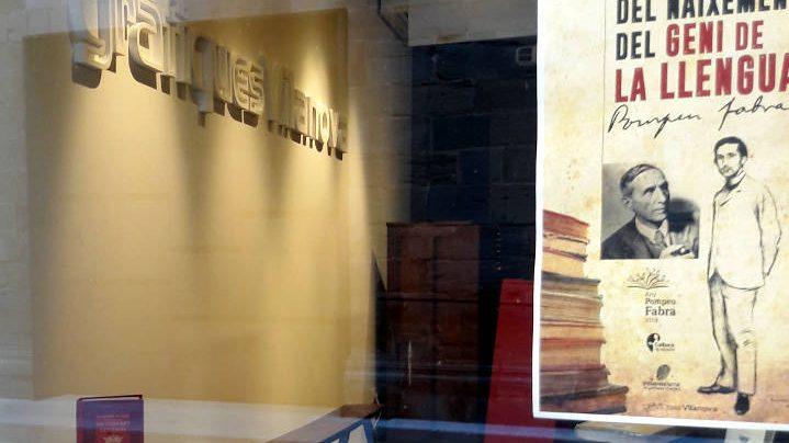 Gràfiques Vilanova passa el relleu de l'Empremta a Òmnium Cultural