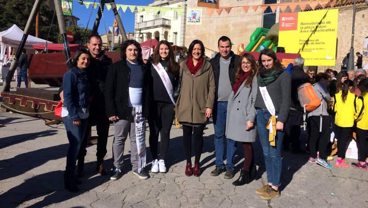Vilanova participa a la Fira dels Torrons d'Òdena