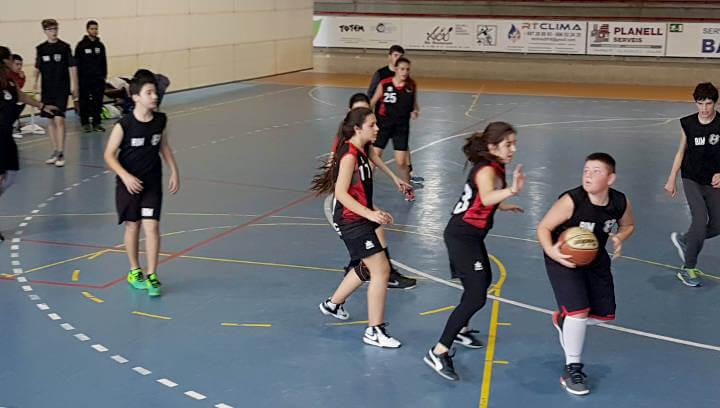 Dues victòries i una derrota 'immerescuda' per als equips del Bàsquet Endavant