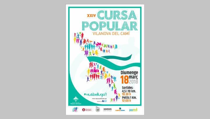 Esports prepara la XXIV Cursa Popular de Vilanova del Camí pel 18 de març