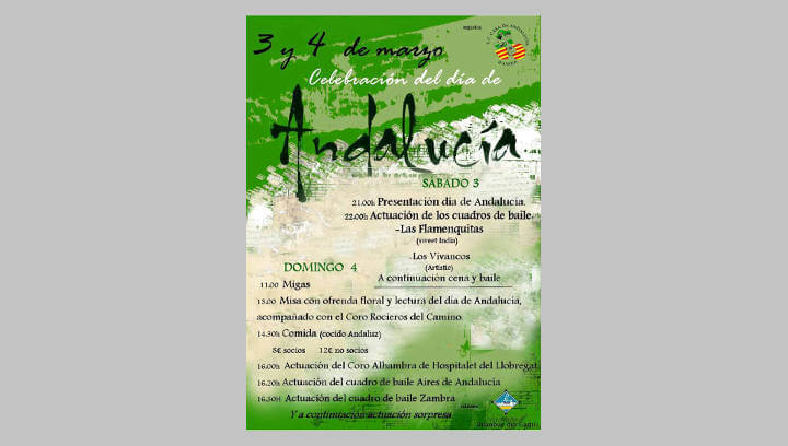 La Casa de Andalucía de l'Anoia celebrarà el Dia d'Andalusia amb un ampli programa folklòric i gastronòmic