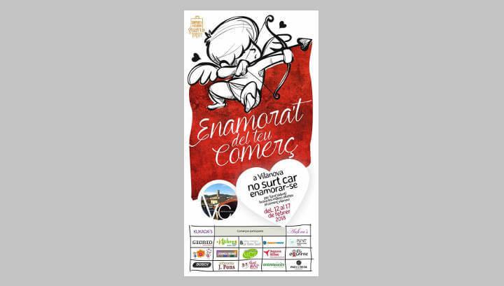 Vilanova Comerç enceta la segona setmana de promoció de Sant Valentí