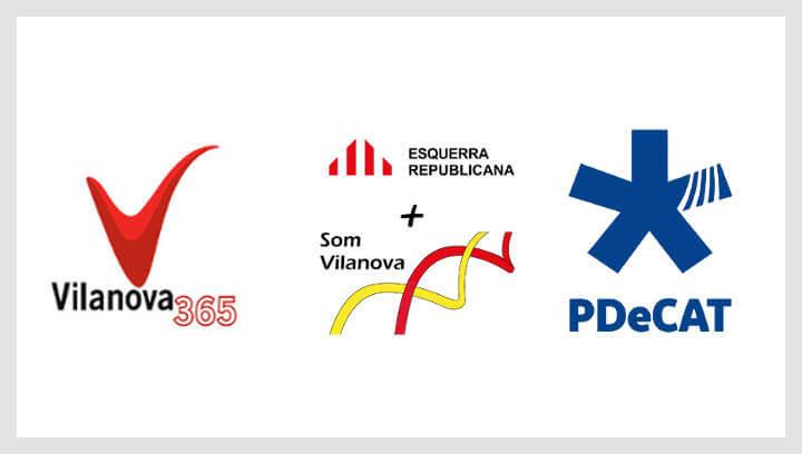 Comunicat de Vilanova 365, ERC i PdeCAT sobre la comparativa dels sous del govern actual i anterior