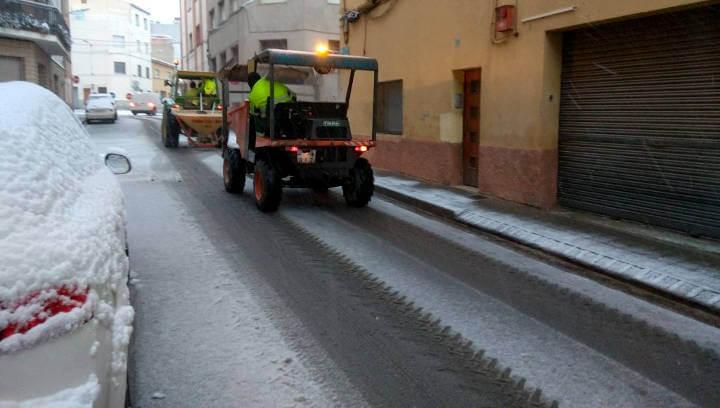 Es restableix el servei d'autobús interurbà i el Pla de Protecció Civil Municipal passa a fase de Pre-Alerta