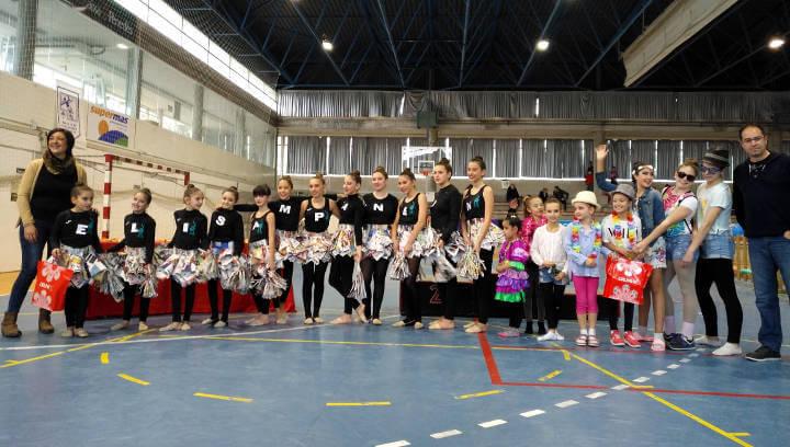 El San Roque aplega 400 gimnastes al IV Trofeu de Carnaval de rítmica