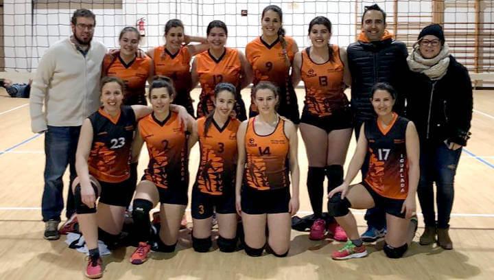 Els equips de l'Igualada Vòlei Club comencen la segona fase amb encerts