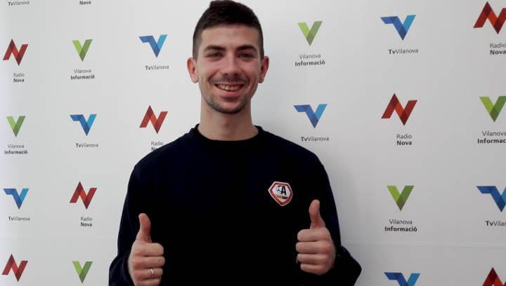 El vilanoví Manel Villena fitxa per la Penya Blaugrana SE Ateneu Igualadí |ÀUDIO|