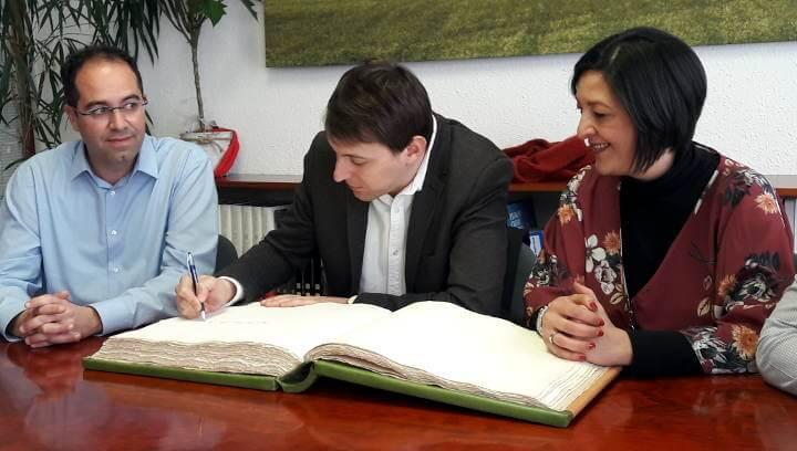 Agents econòmics i socials comparteixen neguits i reptes de futur amb l'eurodiputat socialista Javier López