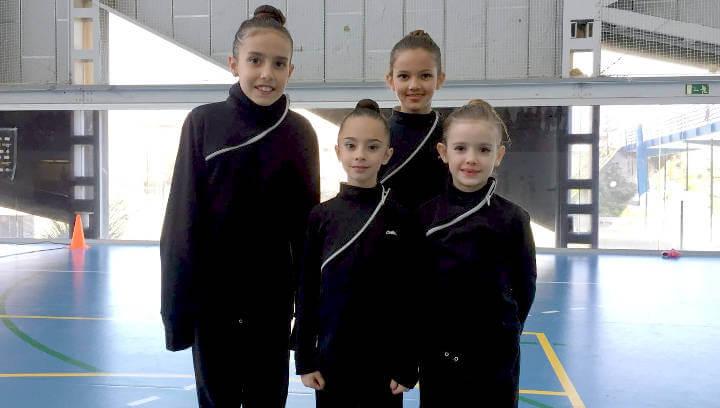 Gran participació del CG San Roque a la 1a jornada de gimnàstica dels Jocs Escolars de l'Anoia