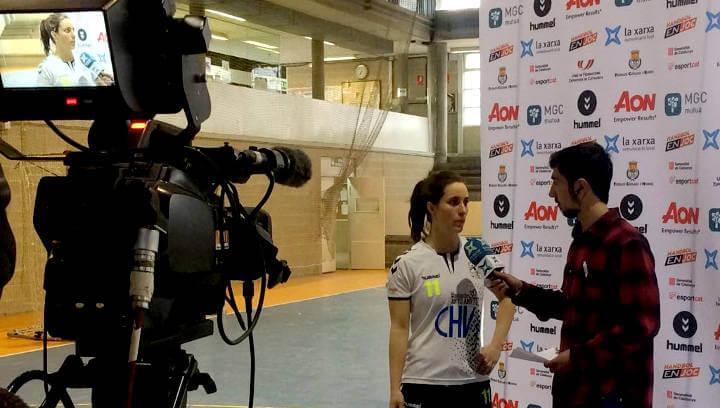 El CH Vilanova fa un dels millors partits de la temporada davant les càmeres de La Xarxa TV